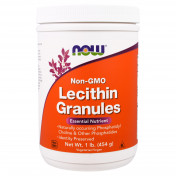 NOW Lecithin Granules Non-GMO 454 г